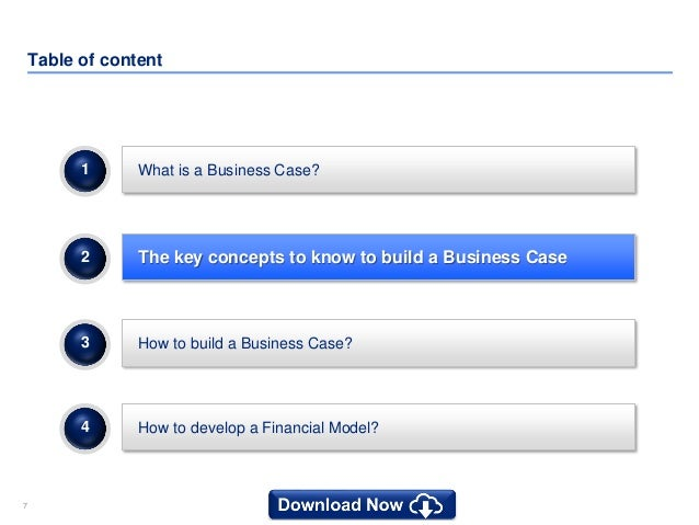 simple business case templates