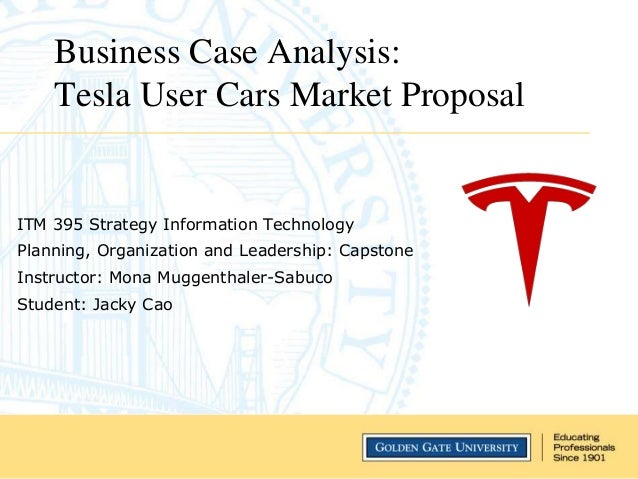 Tesla Business Case Analysis