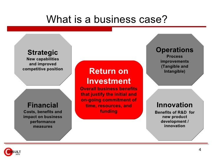 4 what is a business case