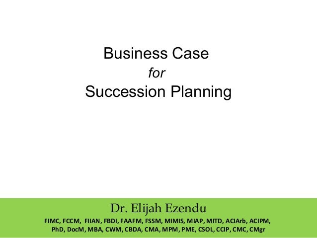 succession planning in business