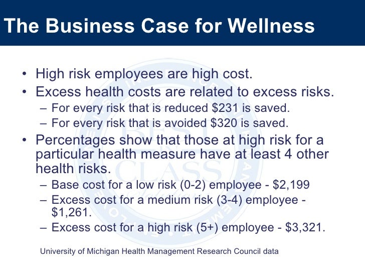 business case for recreation and wellness Health coverage costs business model: develop an application to track  employee  prepare a business case for the recreation and wellness intranet  project.