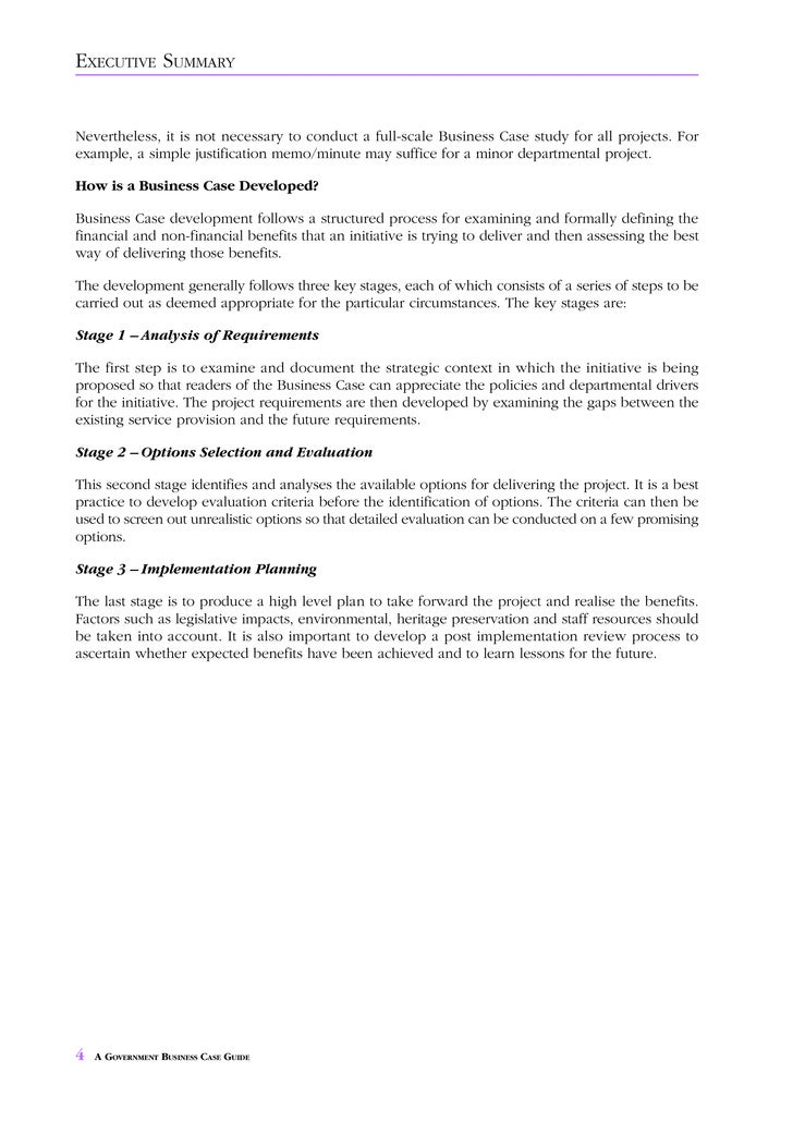 Business Case Guide