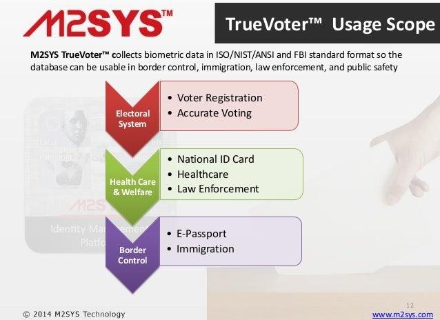 Truevoter Biometric Voter Registration Solution