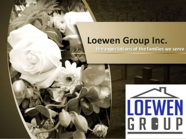 loewen case Introduction after decades' dramatically expansion, the loewen group inc, the second largest death care company in north america, went downhill abruptly in 1998.
