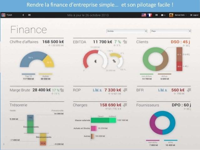 Rendre la finance d'entreprise simple… et son pilotage facile ! 5