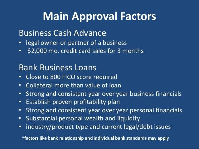Bank business loans vs business cash advance business loans 25000 2 million 10 reheart Choice Image