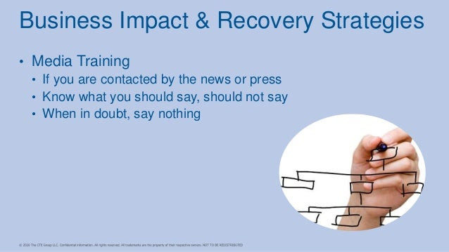 • Media Training • If you are contacted by the news or press • Know what you should say, should not say • When in doubt, s...