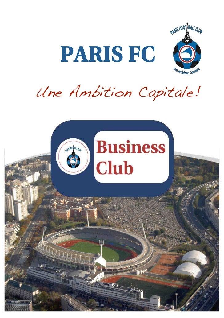 Une Ambition Capitale!!