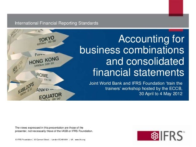 International Financial Reporting Standards                                                                           Acco...