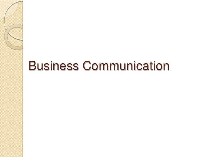 Oral Communication Skills<br />