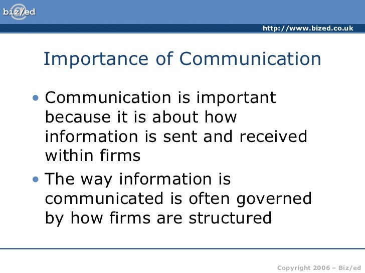 essay on importance of communication in business