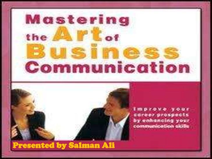 Presented by Salman Ali