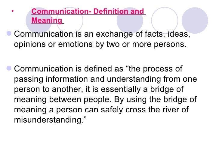 definition business communication Communication media definition - communication media refers to the means of delivering and receiving data or information in telecommunication, these.