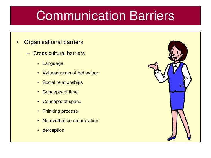 barriers to communication in public organisations