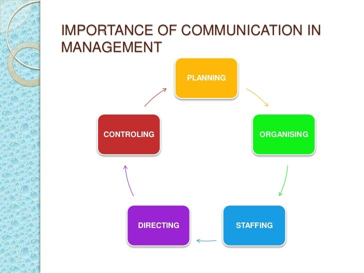 importance of communication in business You hear it all the time aspiring managers or vice presidents want to know the most important key to an esteemed business leader's success.