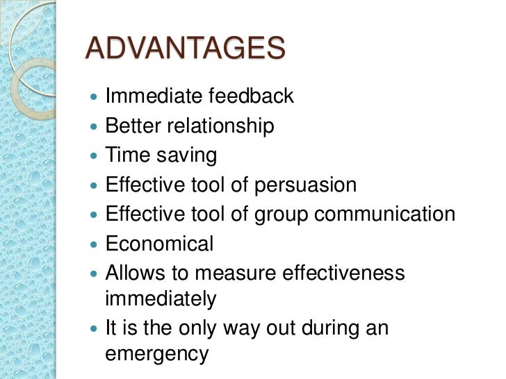 The Advantages and Disadvantages of Communication in an Organization