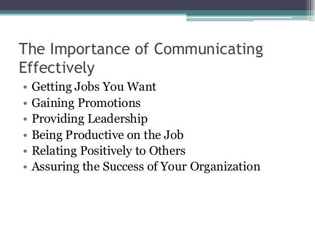 business communication lecture slides