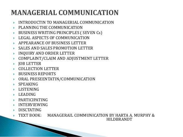 Business Communication Complete Topics