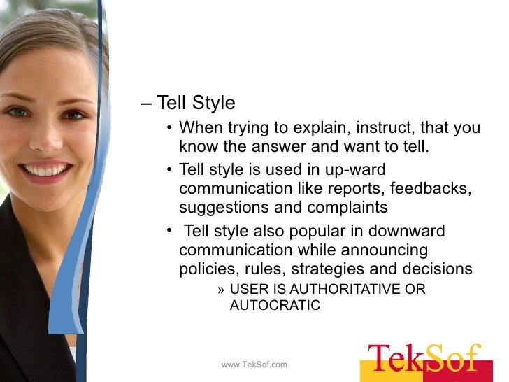 communication style tell sell confer join These skills tell us how to act and what to say in particular social situations  your communication style  teachers pay teachers is an online marketplace where.