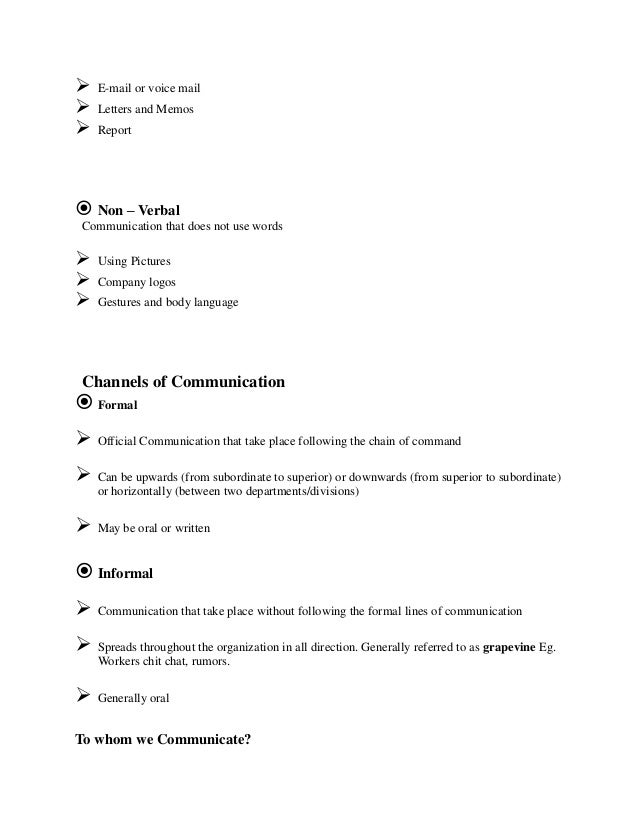 Group communication term papers