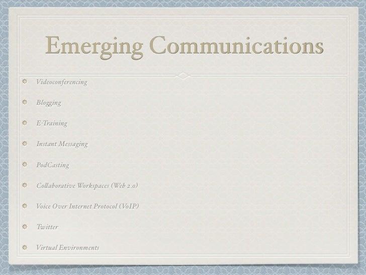 Business Communication Current Slide 3