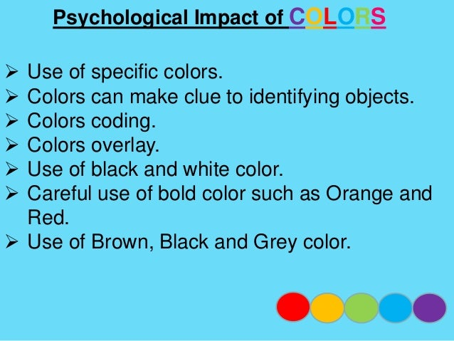 """Psychological Impact of COLORS  Green- """"fertile thinking """"mince creativity  Color and light have medical, therapeutic im..."""