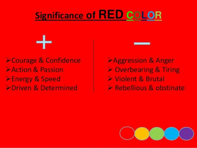 Significance of BLUE COLOR  Predictable & Weak   Unforgiving & Frigid   Lack of emotions   Aloofness  Loyalty & Trust...