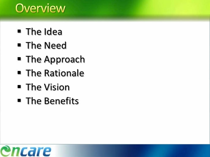 Business concept document Slide 2