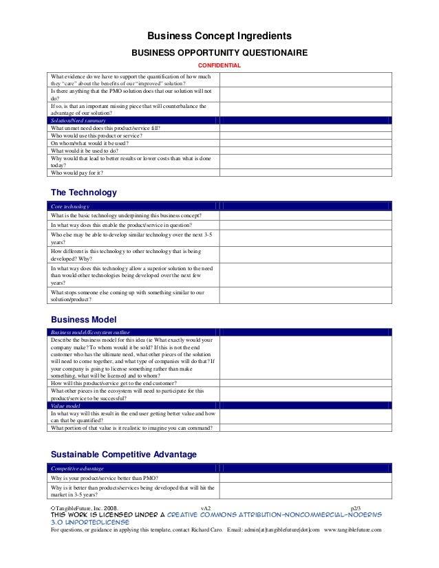 business concept template - Acur.lunamedia.co