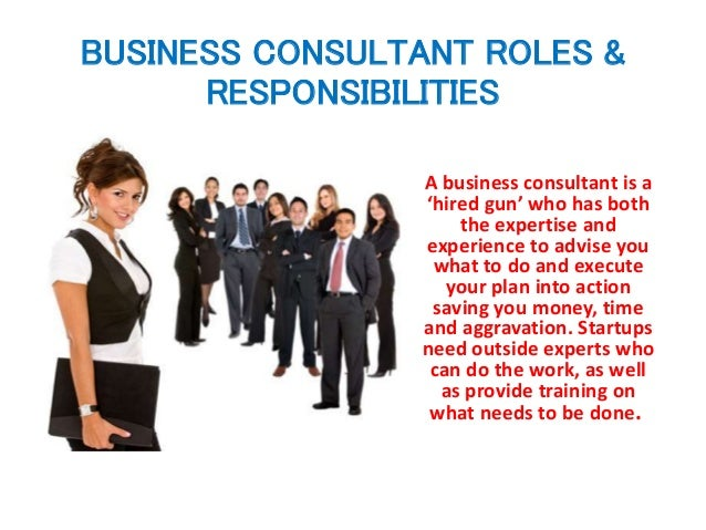 to business consultant how