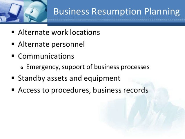 Business continuity disaster recovery planning bcp drp business resumption planning accmission Gallery