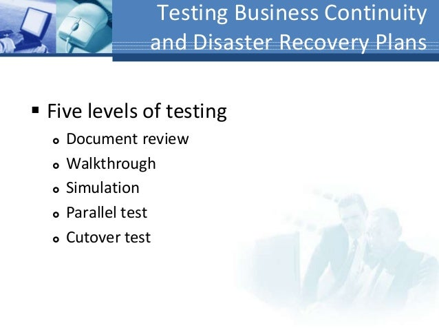 Business Continuity  Disaster Recovery Planning Bcp  Drp
