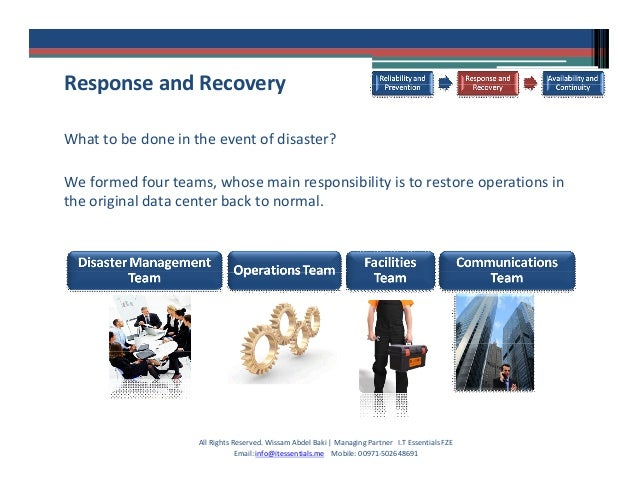 business continuity management case study This is a two-day seminar, combining lecture with a hands-on, case-study based  workshop that  the business rationale for business continuity management.