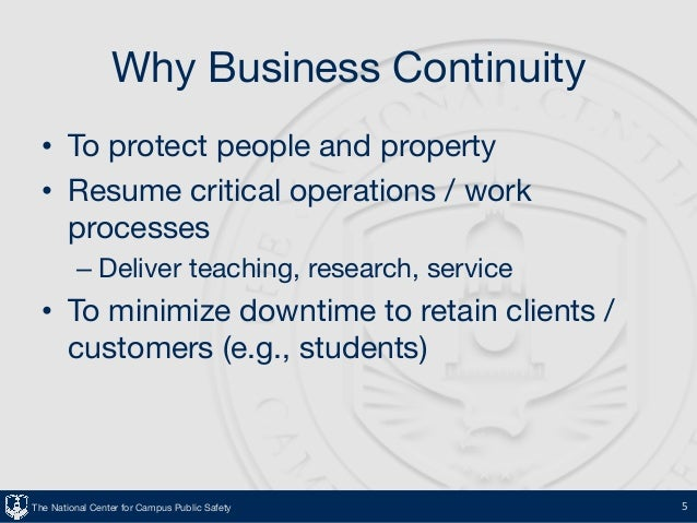 business continuity getting your ducks in a row