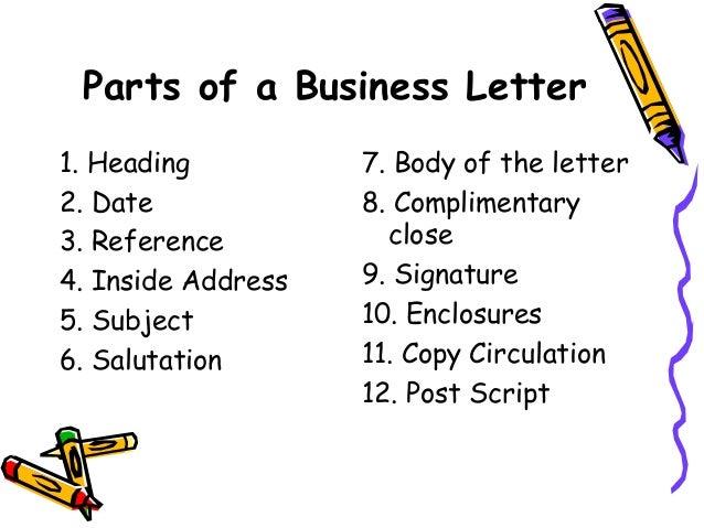 kinds of business letter - Kind Of Business Letter