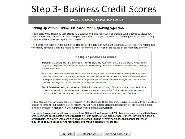 Business credit building steps step 5 business credit reheart Choice Image
