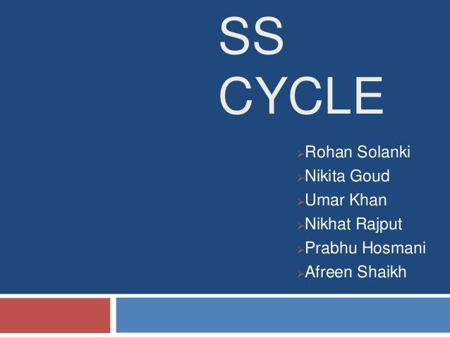 SSCYCLE  Rohan Solanki  Nikita Goud  Umar Khan  Nikhat Rajput  Prabhu Hosmani  Afreen Shaikh