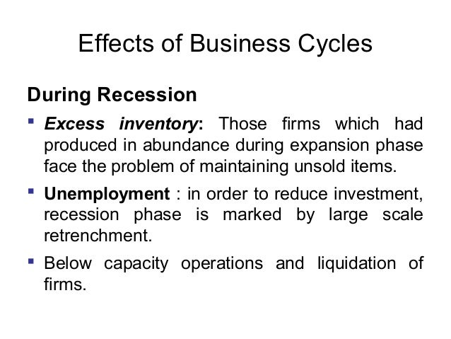 effects of business cycle in macroeconomics