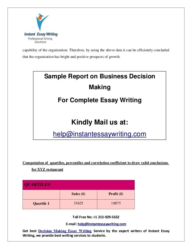 essay on business writing Zessay - your academic + business essay writing service if you're looking at this page you're probably looking for an essay writing service.