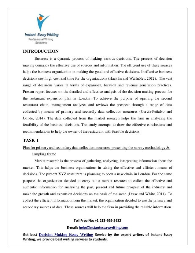 Example Of An English Essay Decision Essay Compare And Contrast Essay High School And College also High School Sample Essay Decision Essay  Romefontanacountryinncom Good Health Essay