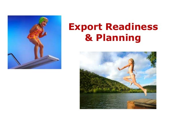 Export Readiness   & Planning