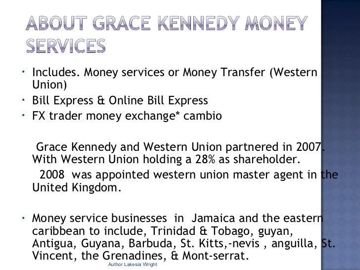 Business Development Grace Kennedy Money Services