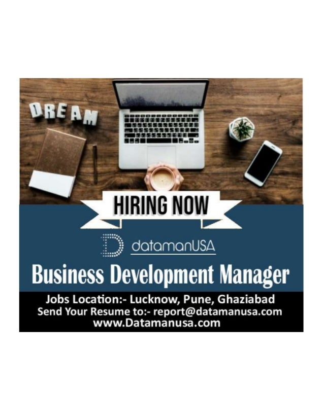 Job Description Business Development Manager