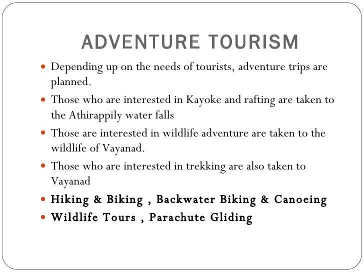 adventure tourism business plan