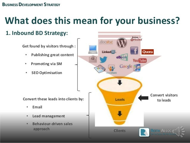 business development strategy In these places business development implies a mix a of business management which entails every thing from strategy, planning, budgeting,reporting, process, governance, mis et al in other organisations all of this could come under a separate unit headed up by a coo.