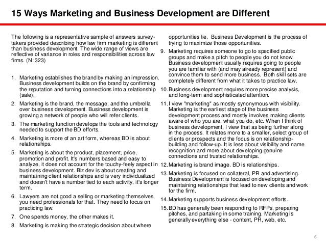 Law firms in business development transition n 430 7 6 15 ways marketing and business development wajeb Images