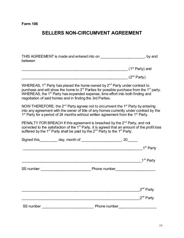 Elegant SlideShare Throughout Investment Agreement Doc