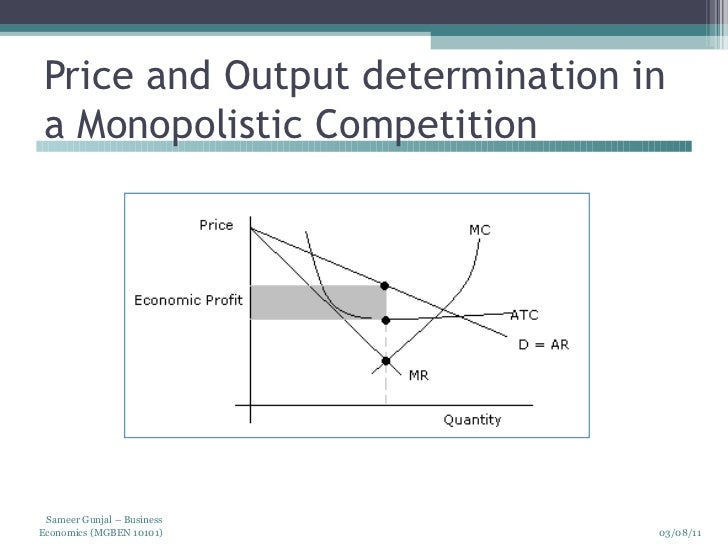 market structures and price output determination in these structures Islamic implications relate primarily to three main profiles of market structure:   equilibrium, in general : the state in which an economic entity (eg good price,  factor price, consumer spending, producer output etc) is at rest so that it has no.