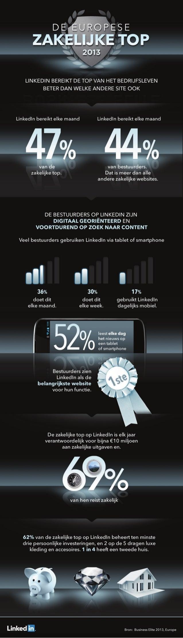 Business Elite Infographic Dutch 2013