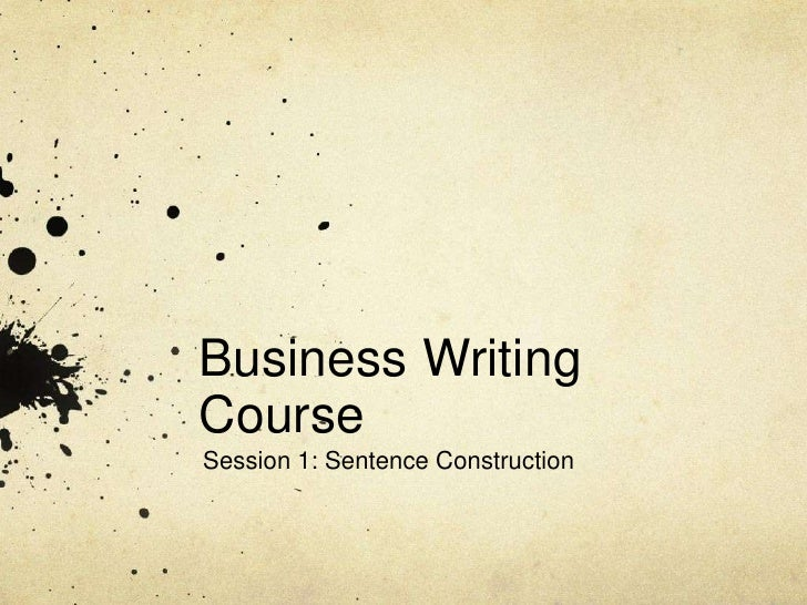 AMA's 2-Day Business Writing Workshop